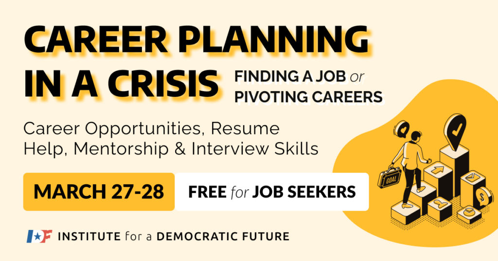 Career Planning in a Crisis